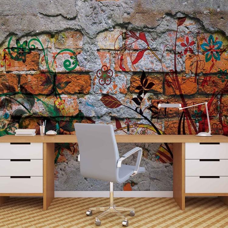 Fotomurale  Arte de la calle de la pintada de la pared