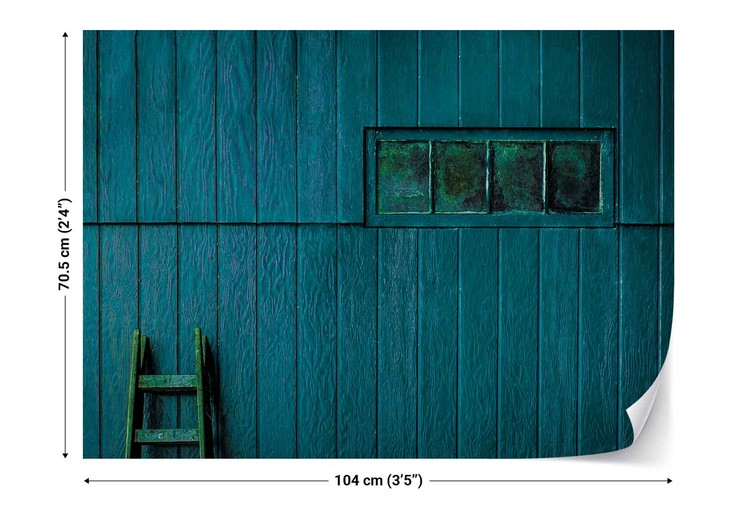 Fotomural Blue And Green