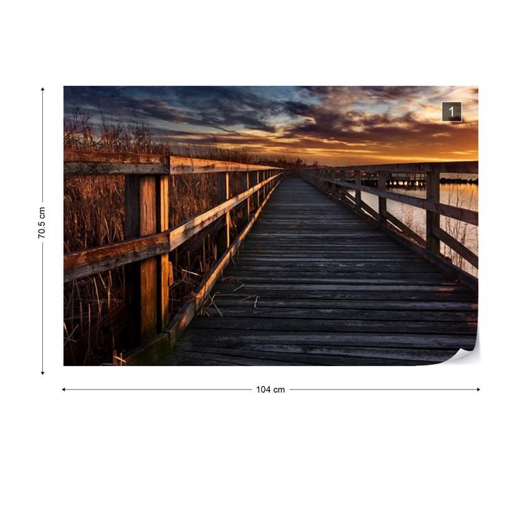 Fotomural Boardwalk