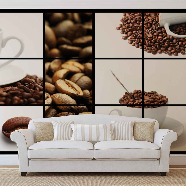 Fotomural  Café café
