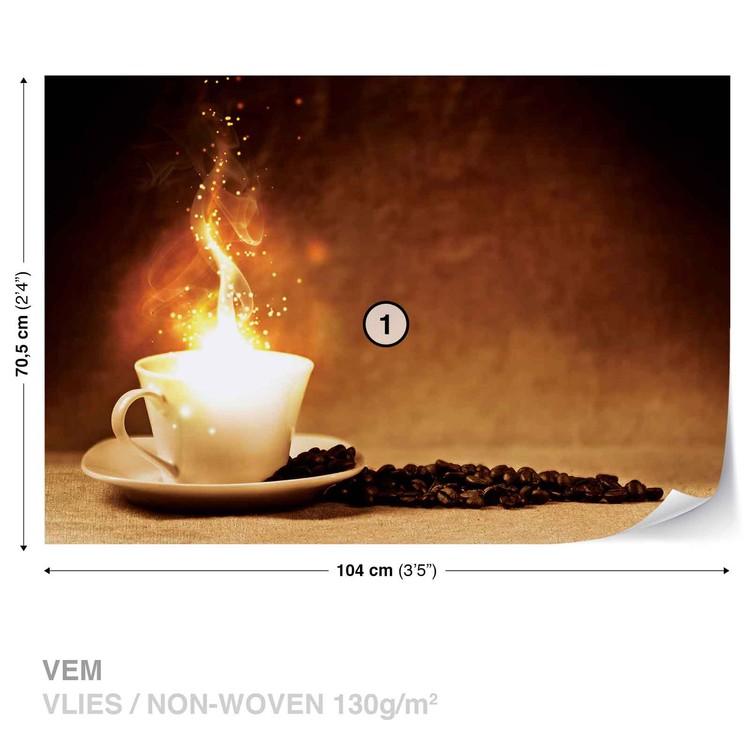 Fotomural Café café fuego