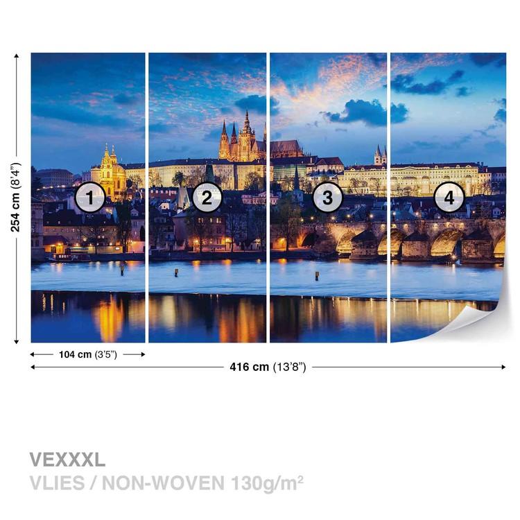 Fotomural Ciuda de Praga rio