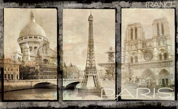 Fotomurale Ciudad de París
