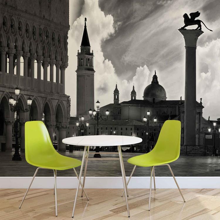Fotomurale Ciudad Venecia San Marco, Papel pintado | Europosters.es