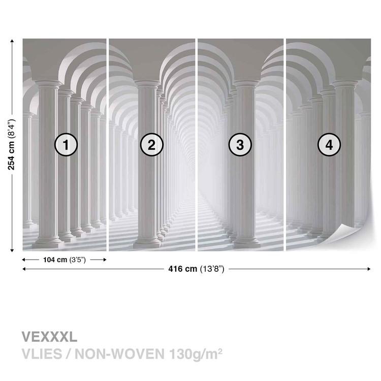 Fotomural Columnas Pasaje