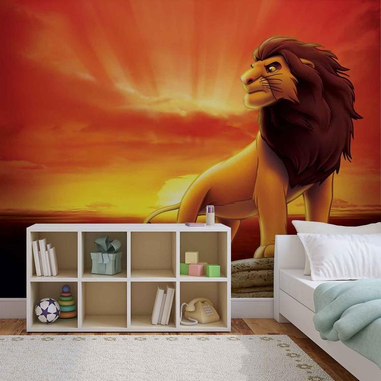 Fotomurale  Disney amancecer rey León