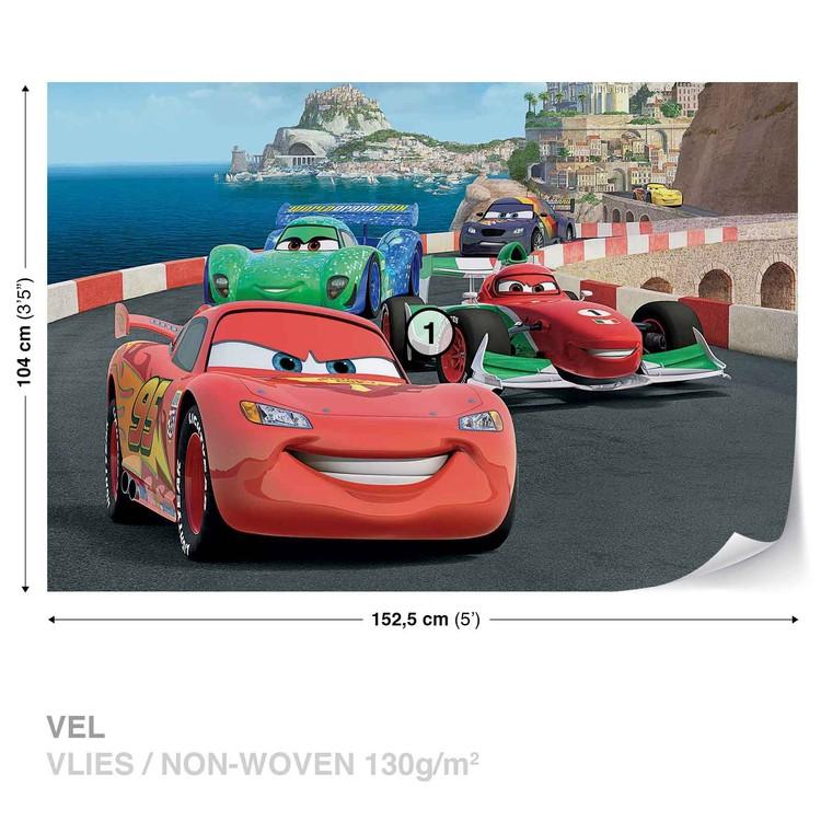 f8abce28a Fotomural Disney Cars Rayo McQueen Bernoulli, Papel pintado ...