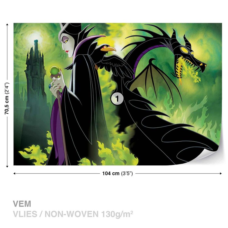 Fotomural Disney Maleficent