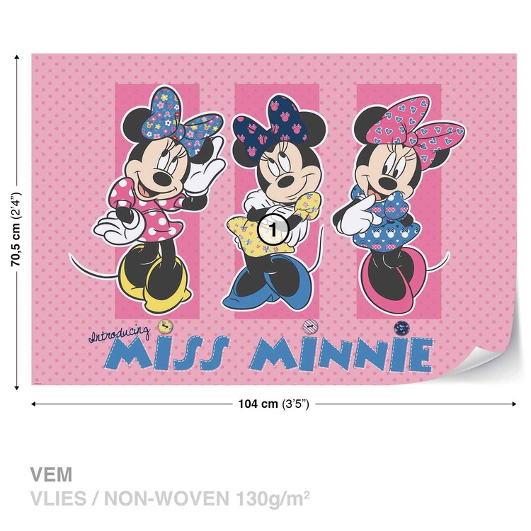 Fotomural  Disney Minnie Mouse