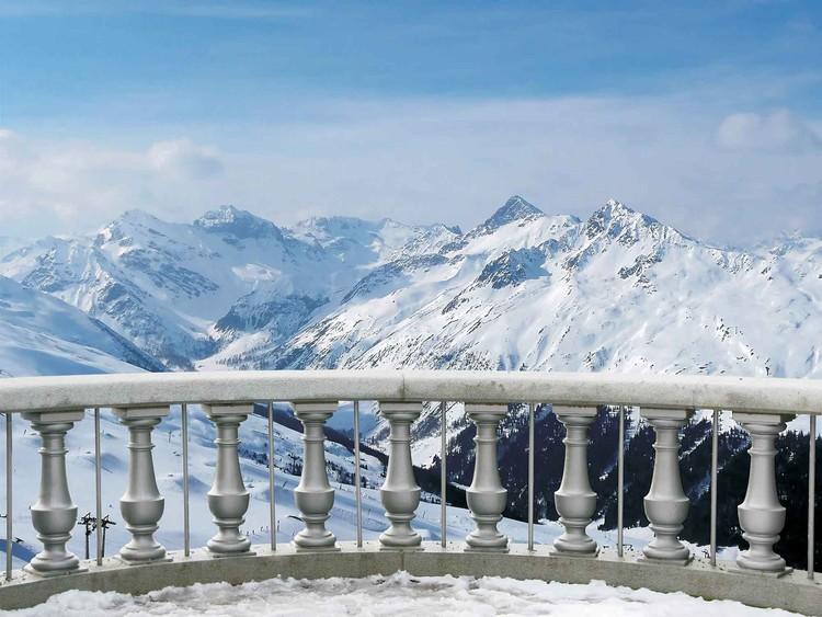 Fotomurale Escena de montaña