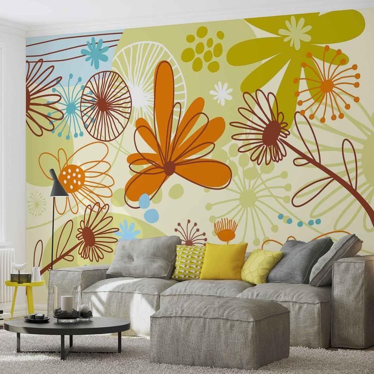 Fotomurale Floral Pattern