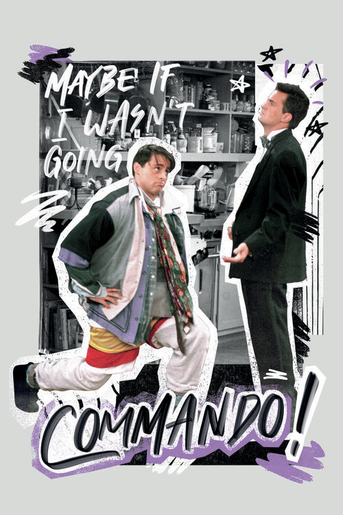 Fotomural Friends - Commando!