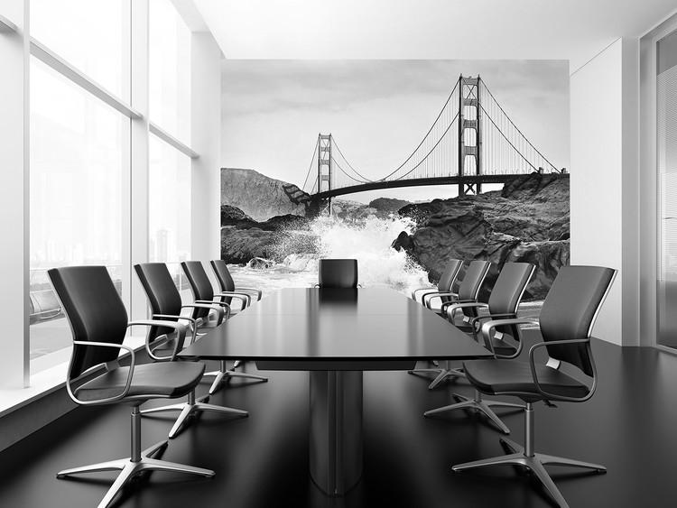 Fotomurale Golden Gate Bridge – Rock