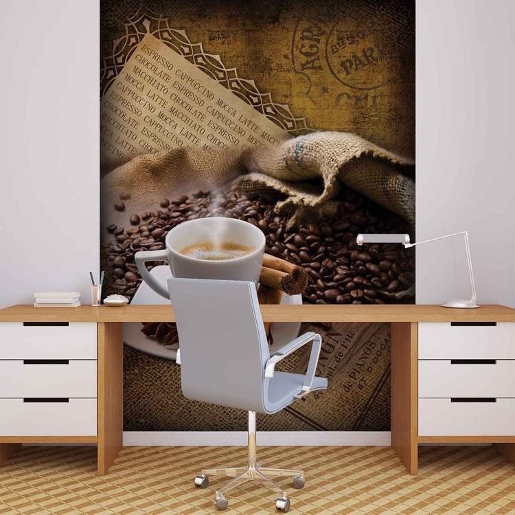 Fotomurale  Granos de café