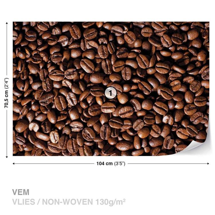 Fotomural Granos de café