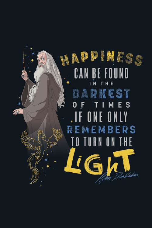 Fotomural Harry Potter - Quote