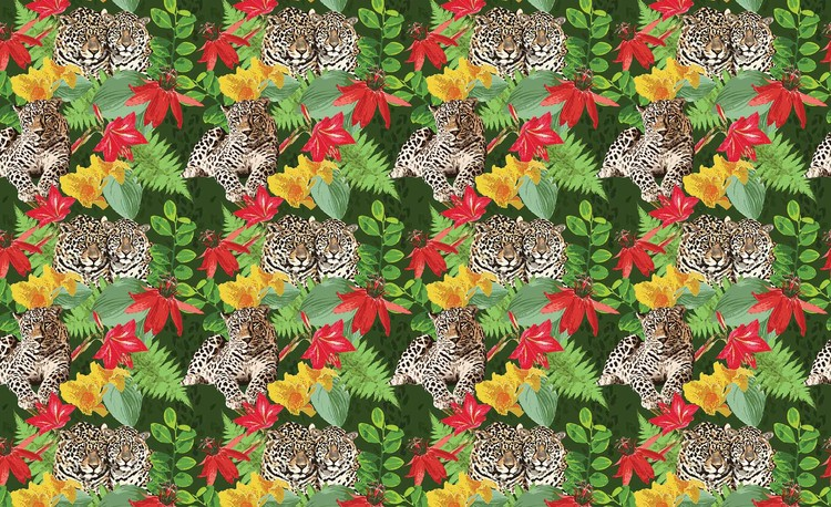 Fotomural Jungle Cheetah