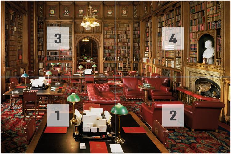 Fotomurale  La Bibliotéka - House of Lords