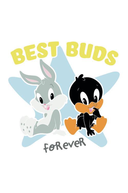 Fotomural Looney Tunes - Best buds