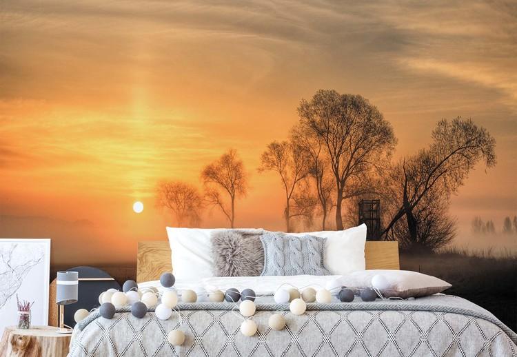 Fotomural Misty Sunset