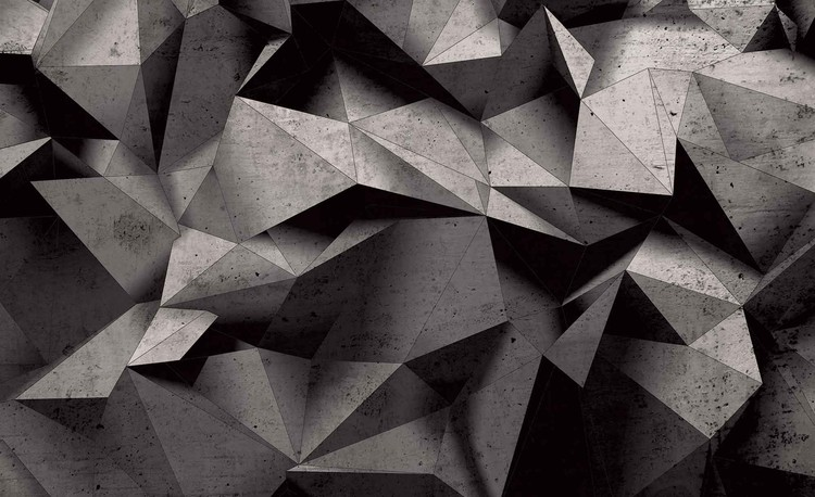 Fotomural Modern Abstract Geometric Art
