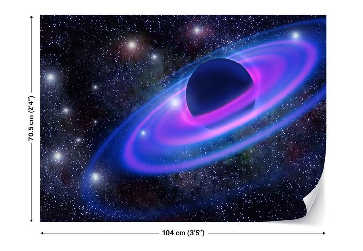 Fotomural Neon Planet
