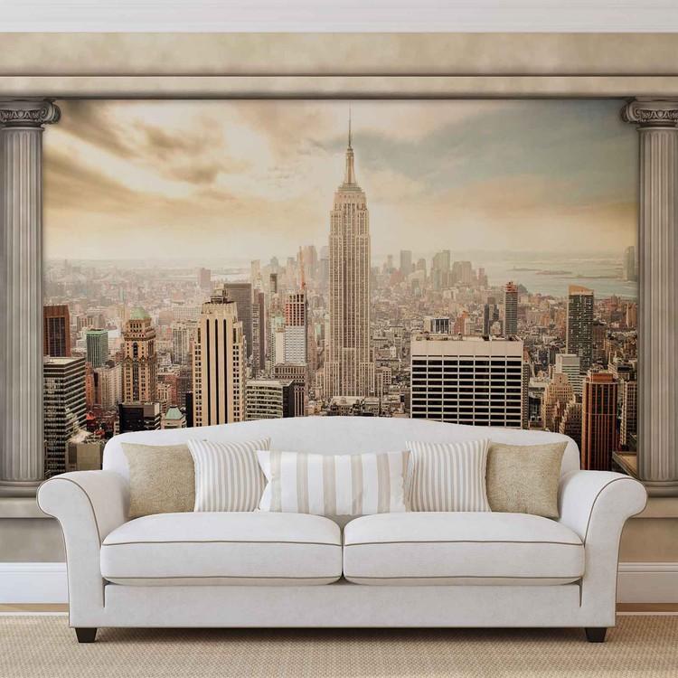 Fotomural Nueva York Ver Pilares
