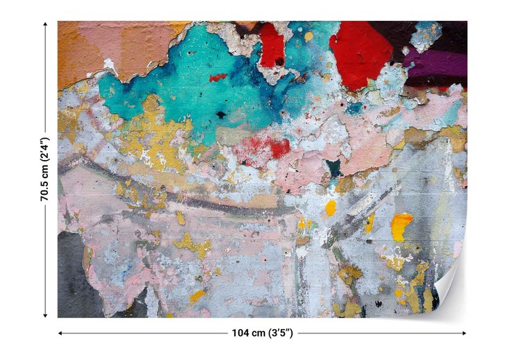 Fotomural Paint Layers