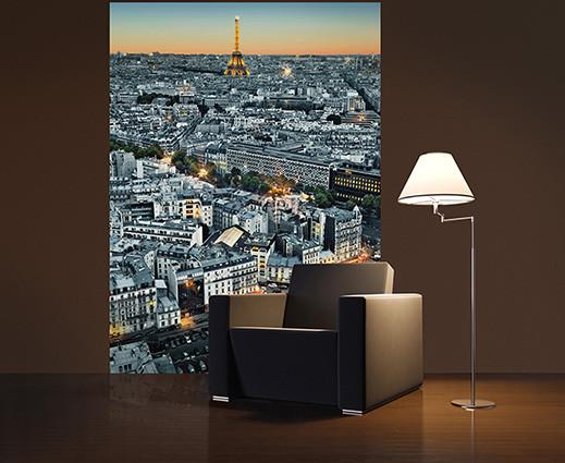 Fotomurale PARIS AERIEL VIEW