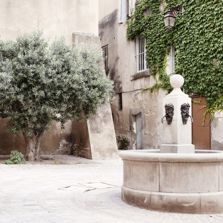 Fotomural Provencal Place