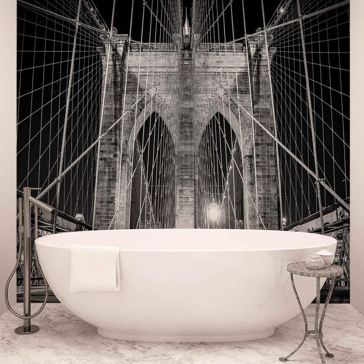 Fotomurale Puente de Brooklyn Nueva York