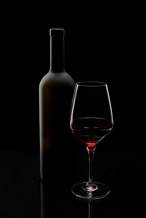 Fotomural  Red wine