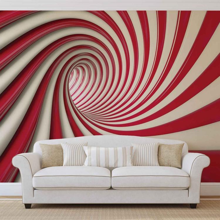 Fotomural Remolino abstracto