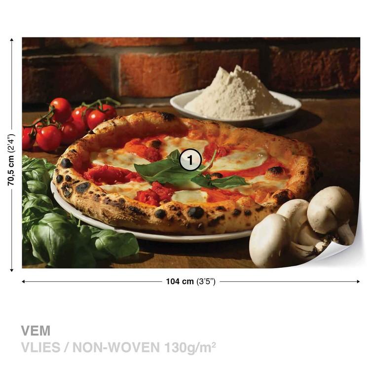 Fotomural Restaurante de comida italiana