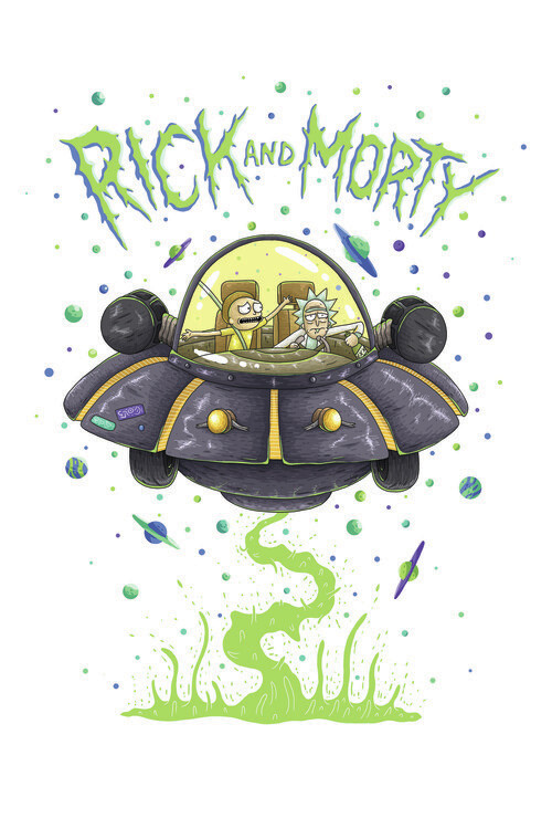 Fotomural Rick & Morty - Astronave