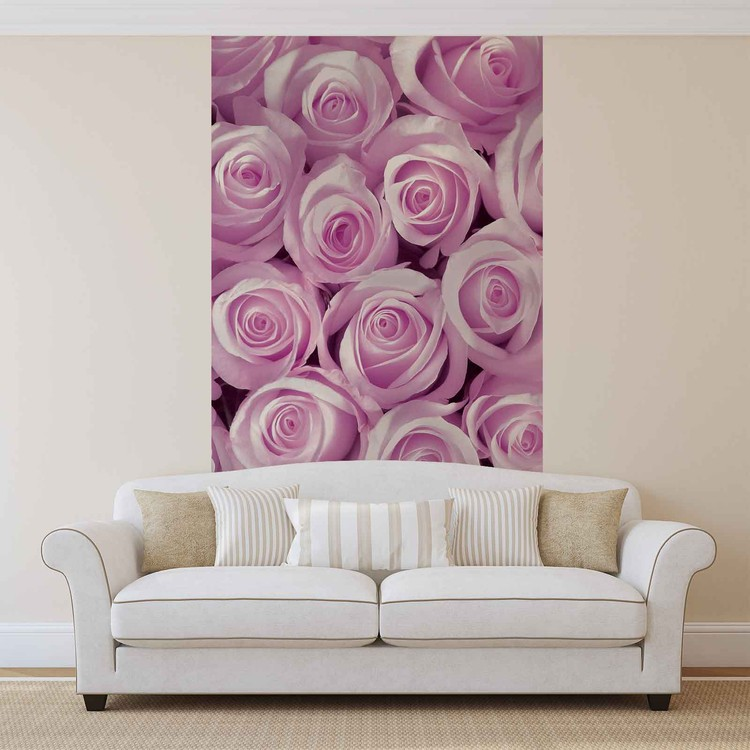 Fotomurale Rosas rosadas