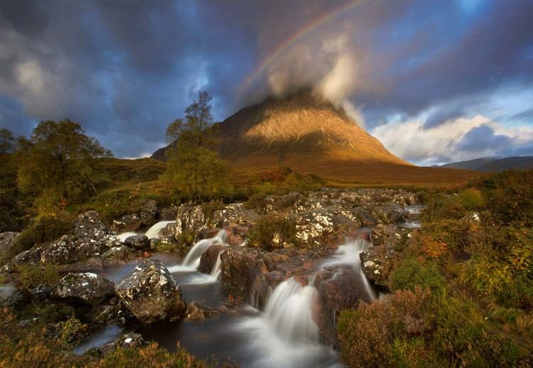Fotomural  Scotland