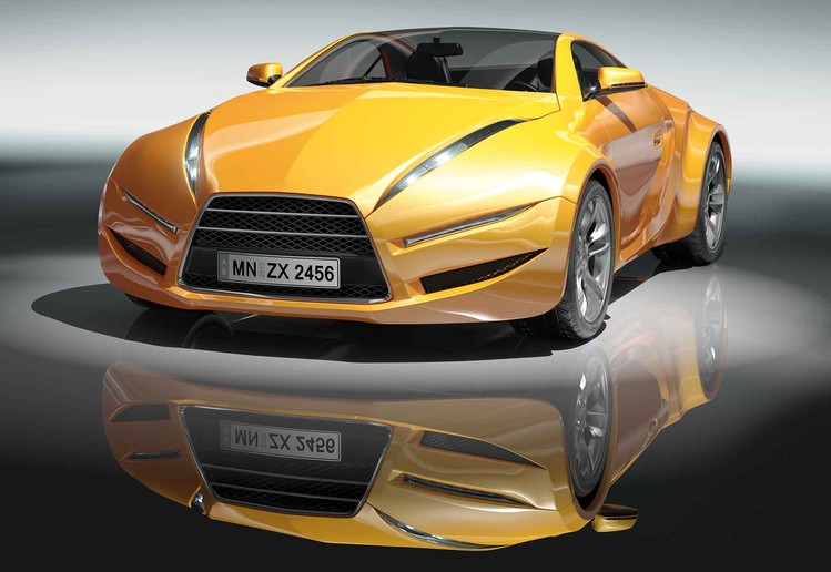 Fotomurale Sports Racing Car