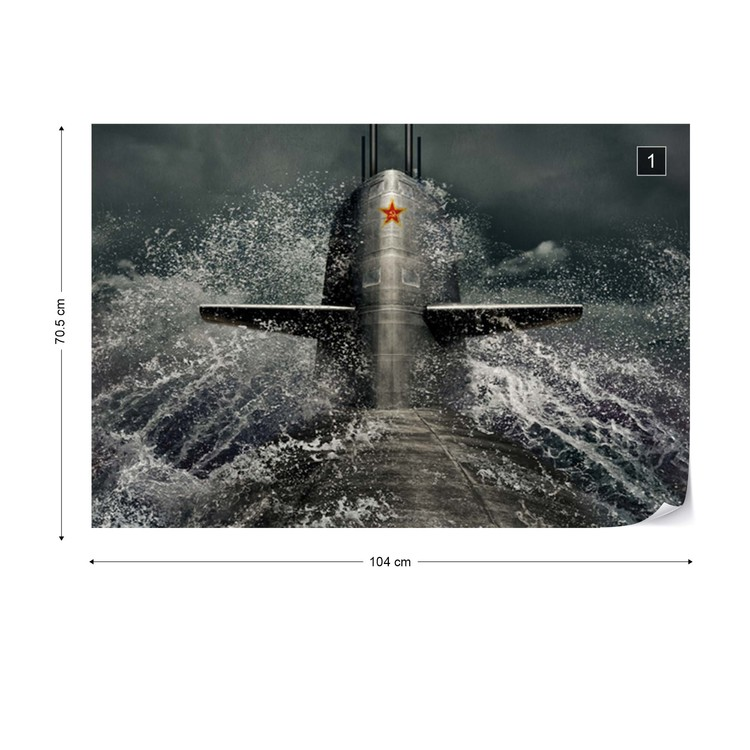 Fotomural Submarine