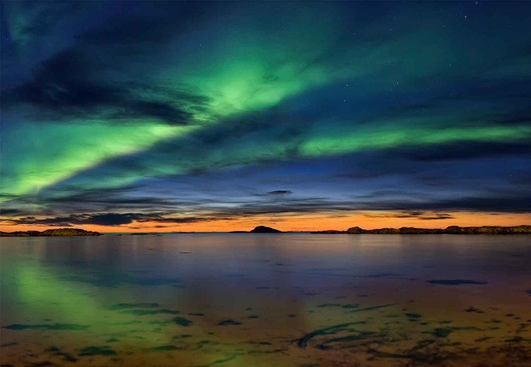 Fotomural Sunset In Andenes
