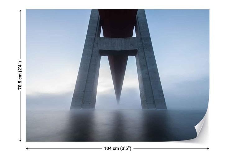Fotomural The High Coast Bridge