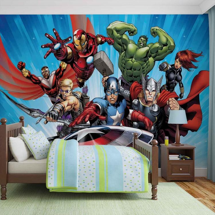 Fotomural  Vengadores Marvel