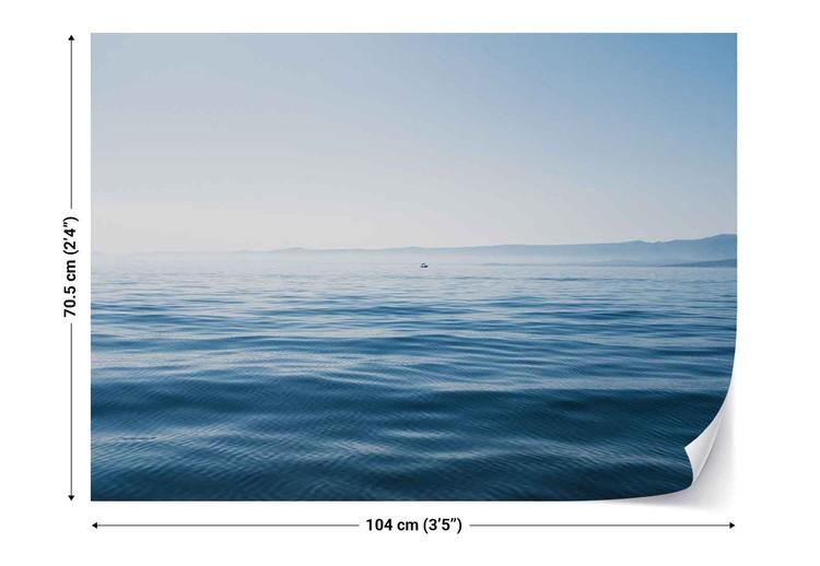 A Day In Blue Fototapet
