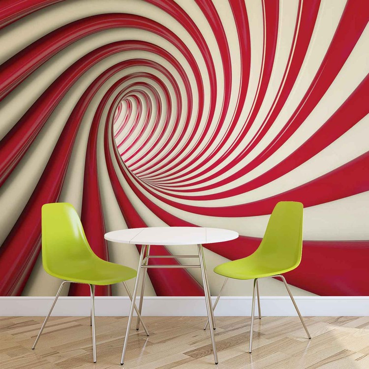 Abstract Swirl Fototapet