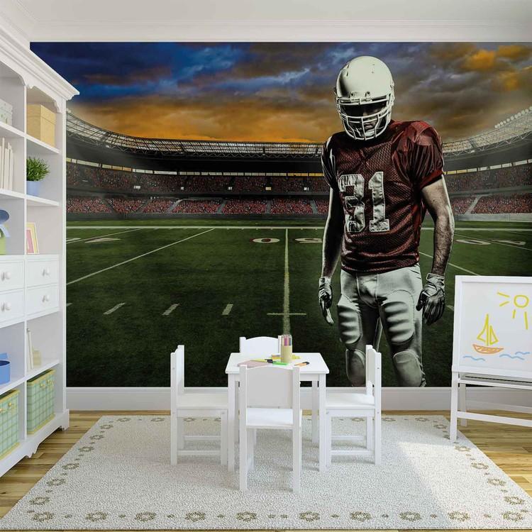 American Football Stadium Fototapet