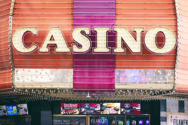 American West - Las Vegas Casino Fototapet