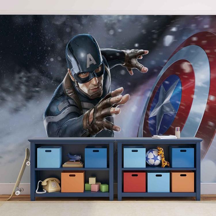 Avengers  - Captain America Fototapet