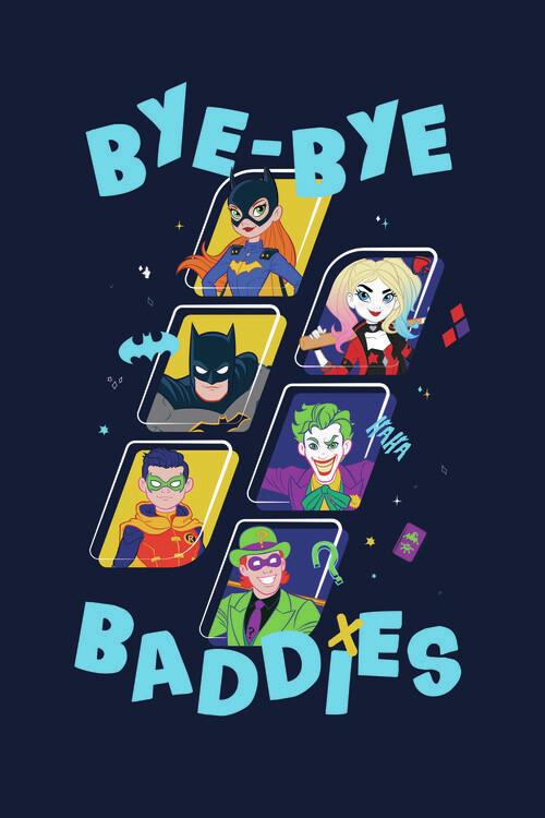 Batman - Baddies Fototapet