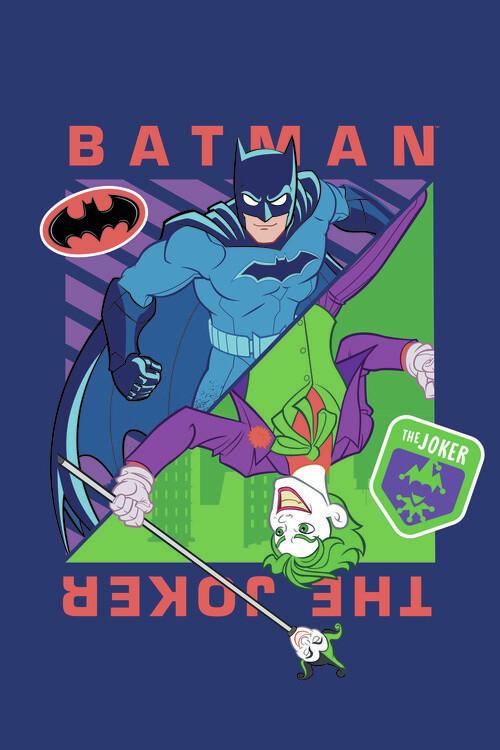 Batman vs Joker Fototapet