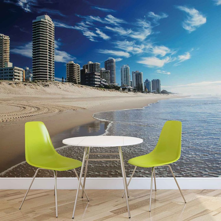 Beach Gold Coast Fototapet